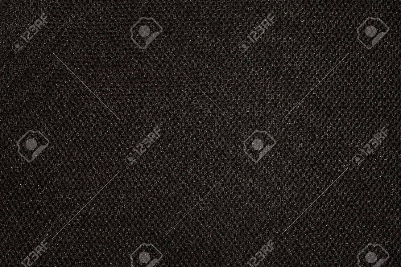 Black fabric texture with pattern - 8789304