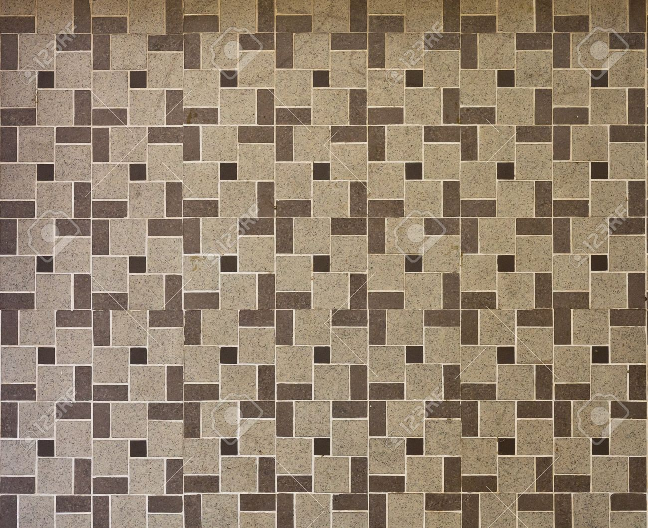 Beautiful brown tile texture pattern use for wall or floor - 9356804