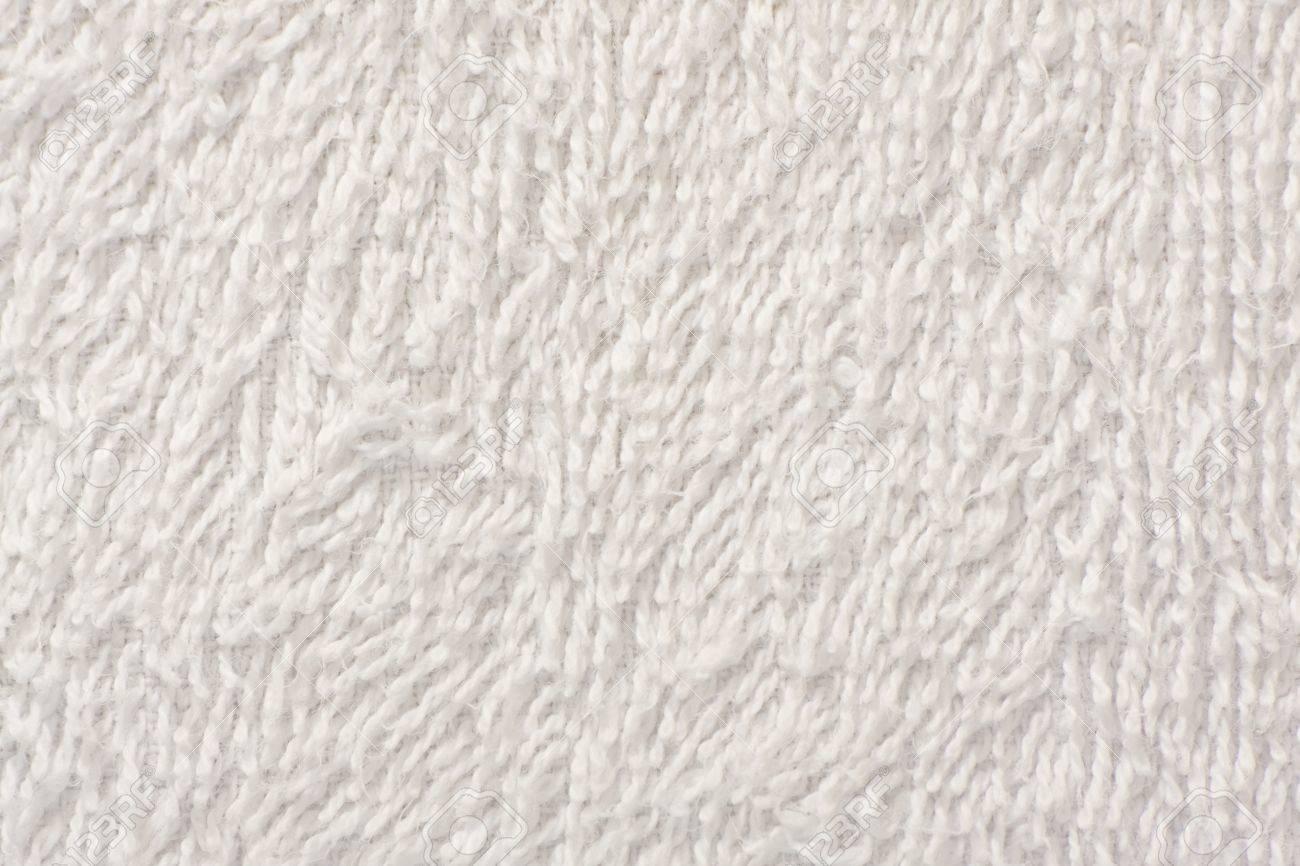 White soft towel texture background close up - 9589653