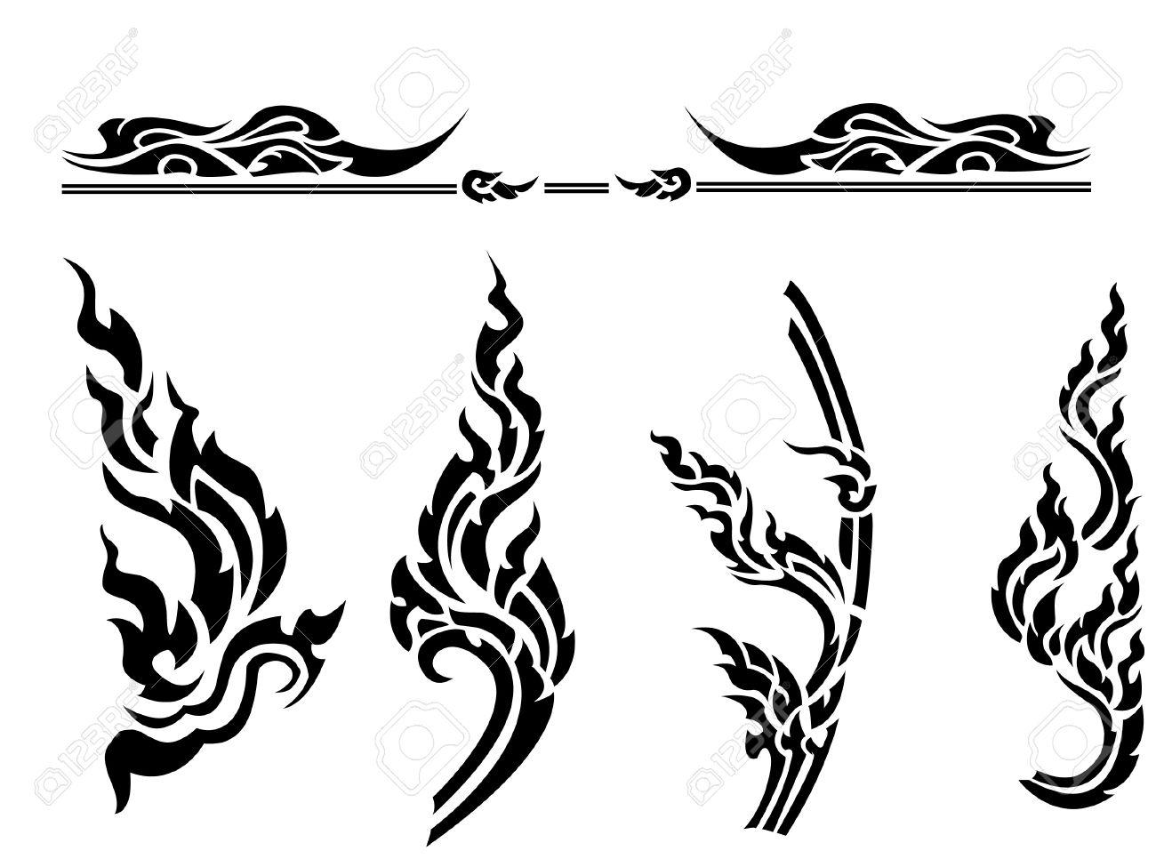 Thai style pattern - 17692866