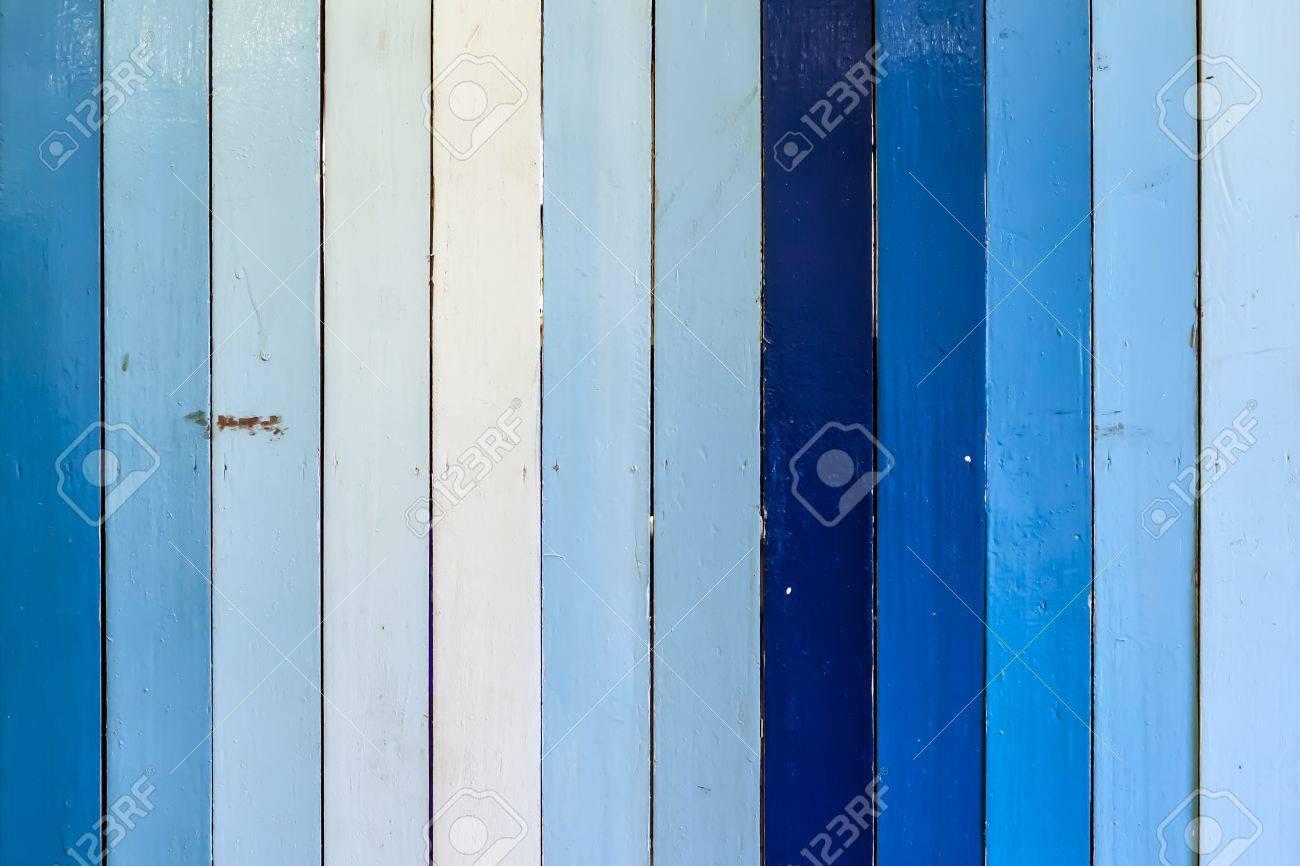 Blu E Bianco A Strisce Parete In Legno Texture Di Sfondo ...