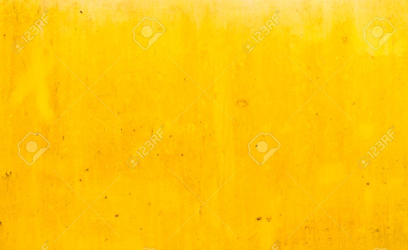 Dirty yellow metal plate surface texture background - 22272086