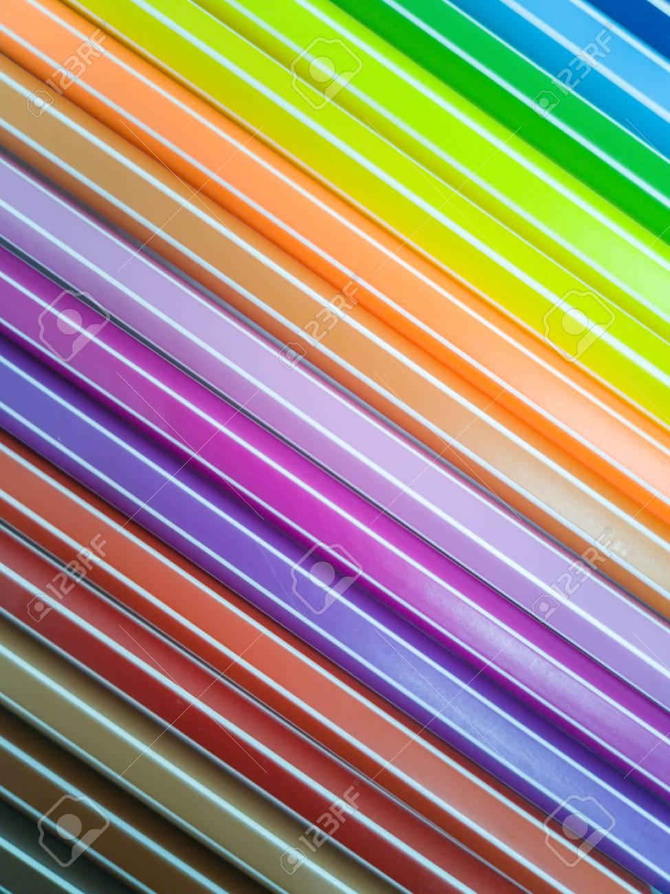 Set of colorful marker paint pen vibrant background - 106223028