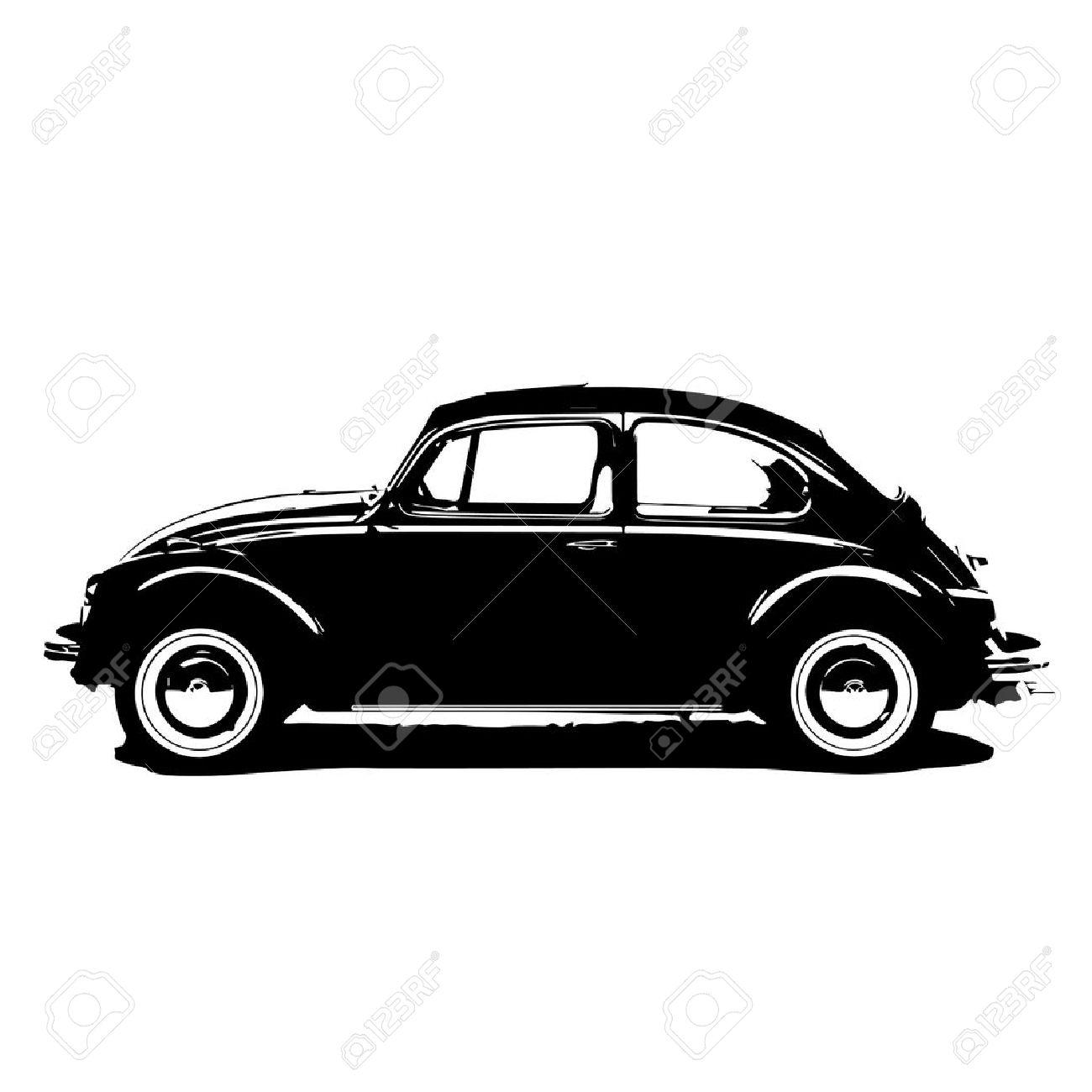 beetle car vector - 64385632