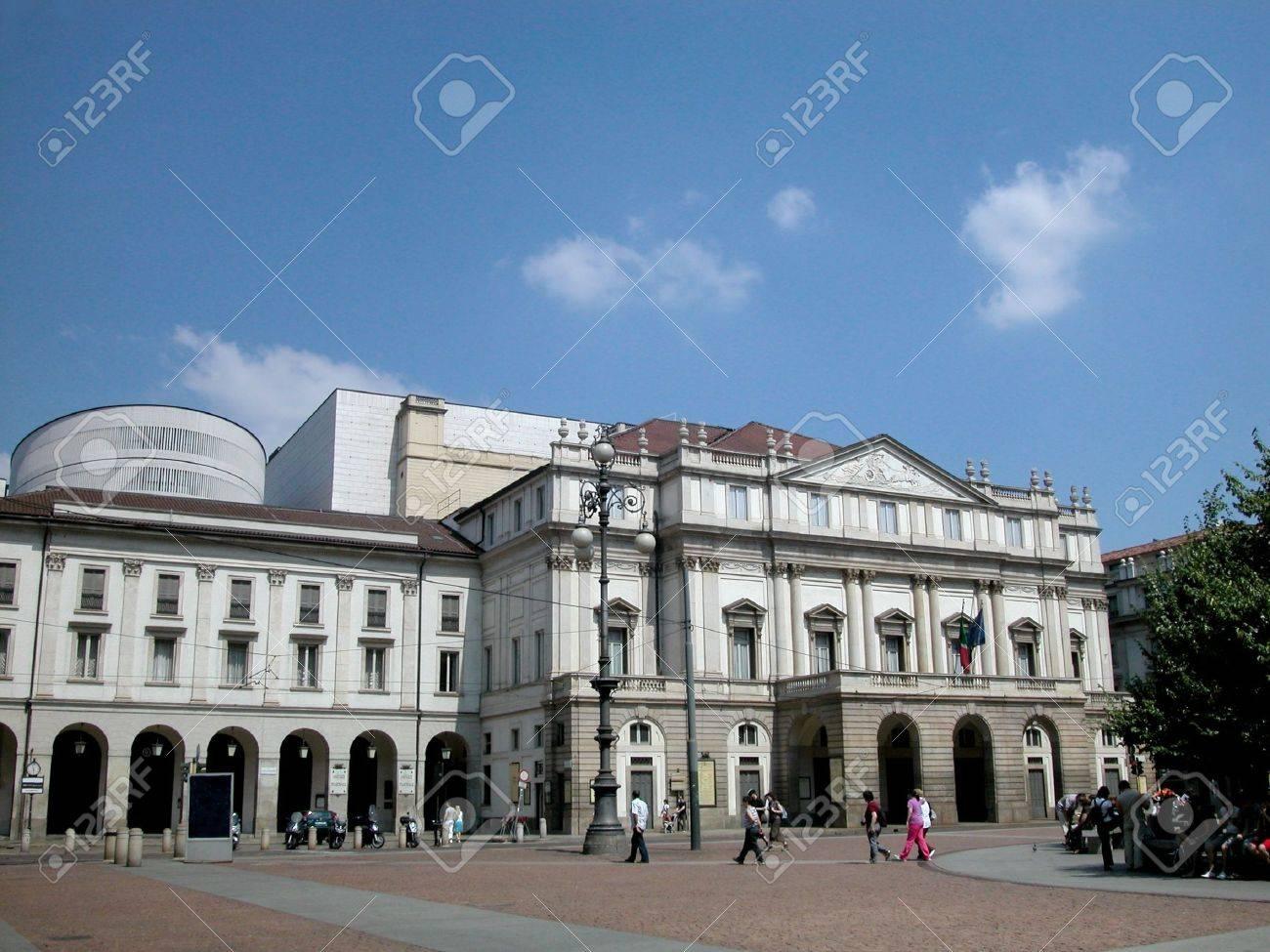 World's famous theater Scala in Milan, Italy Stock Photo - 6514687