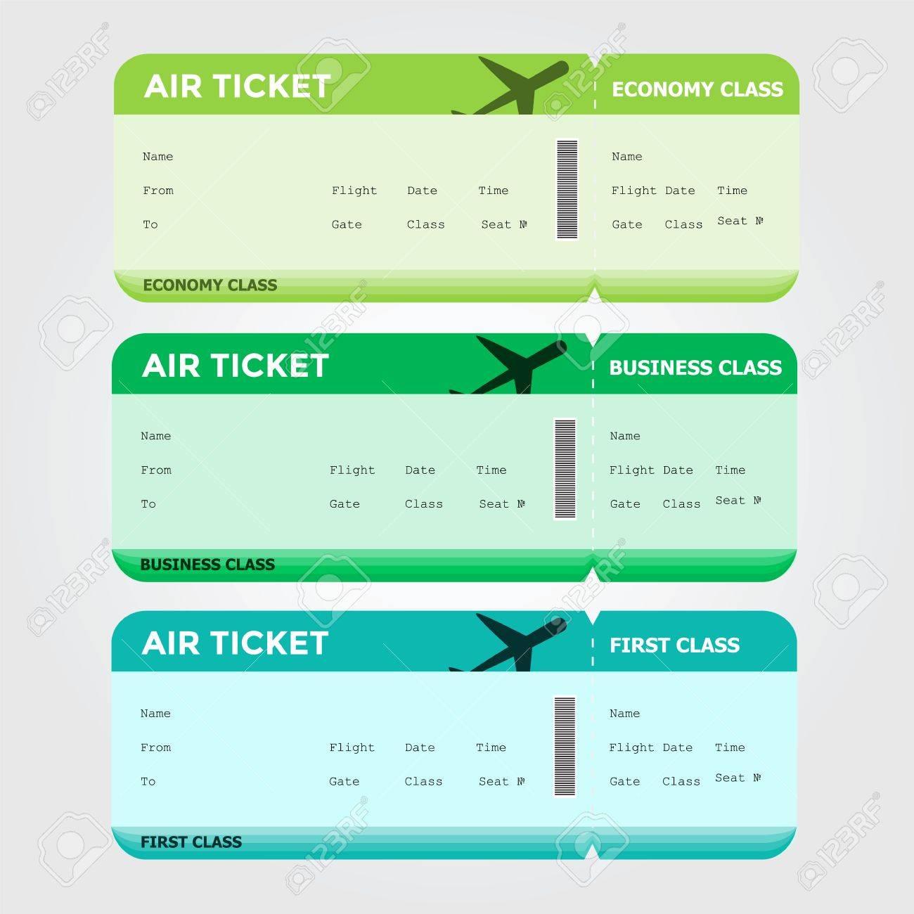 Atemberaubend Leere Ticketvorlage Zeitgenössisch - Beispiel Business ...