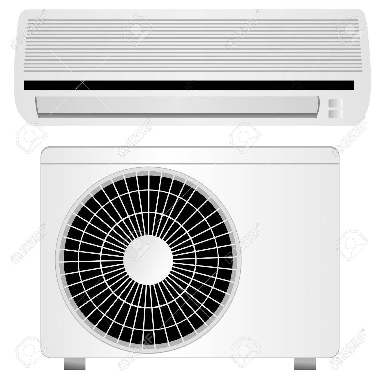 air conditioner vector illustration, isolated Stock Vector - 5613952