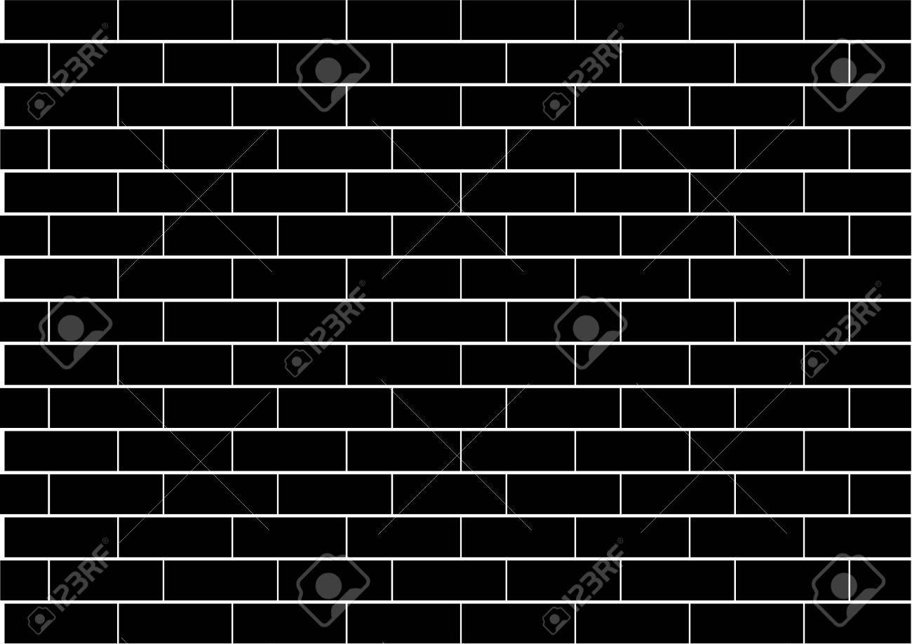 Black Brick Wall illustration of a black brick wall royalty free cliparts, vectors