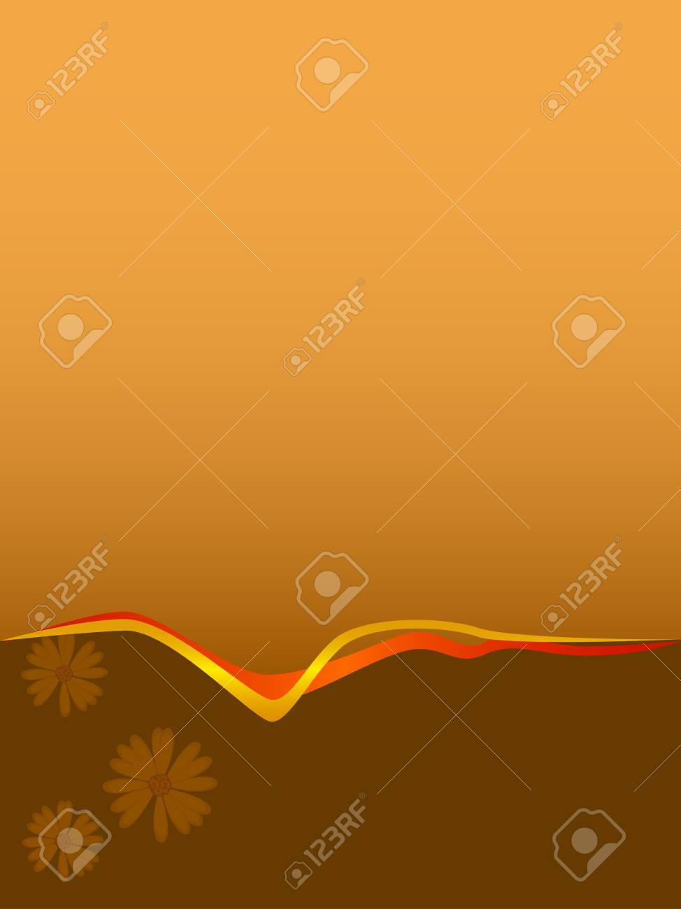 Two colors background with two ribbons Stock Photo - 716404