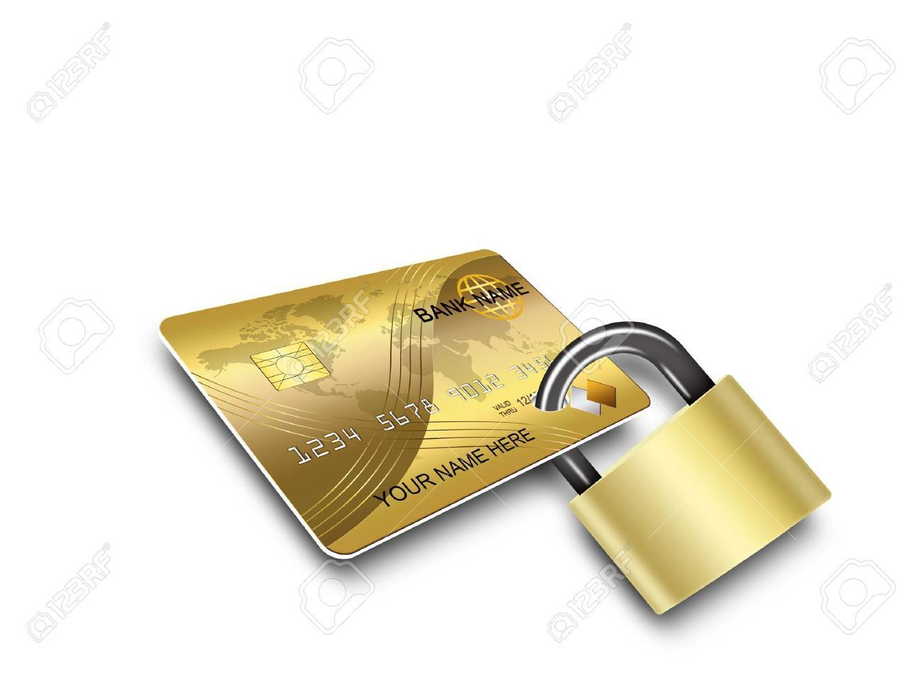 cards security Stock Photo - 10031129
