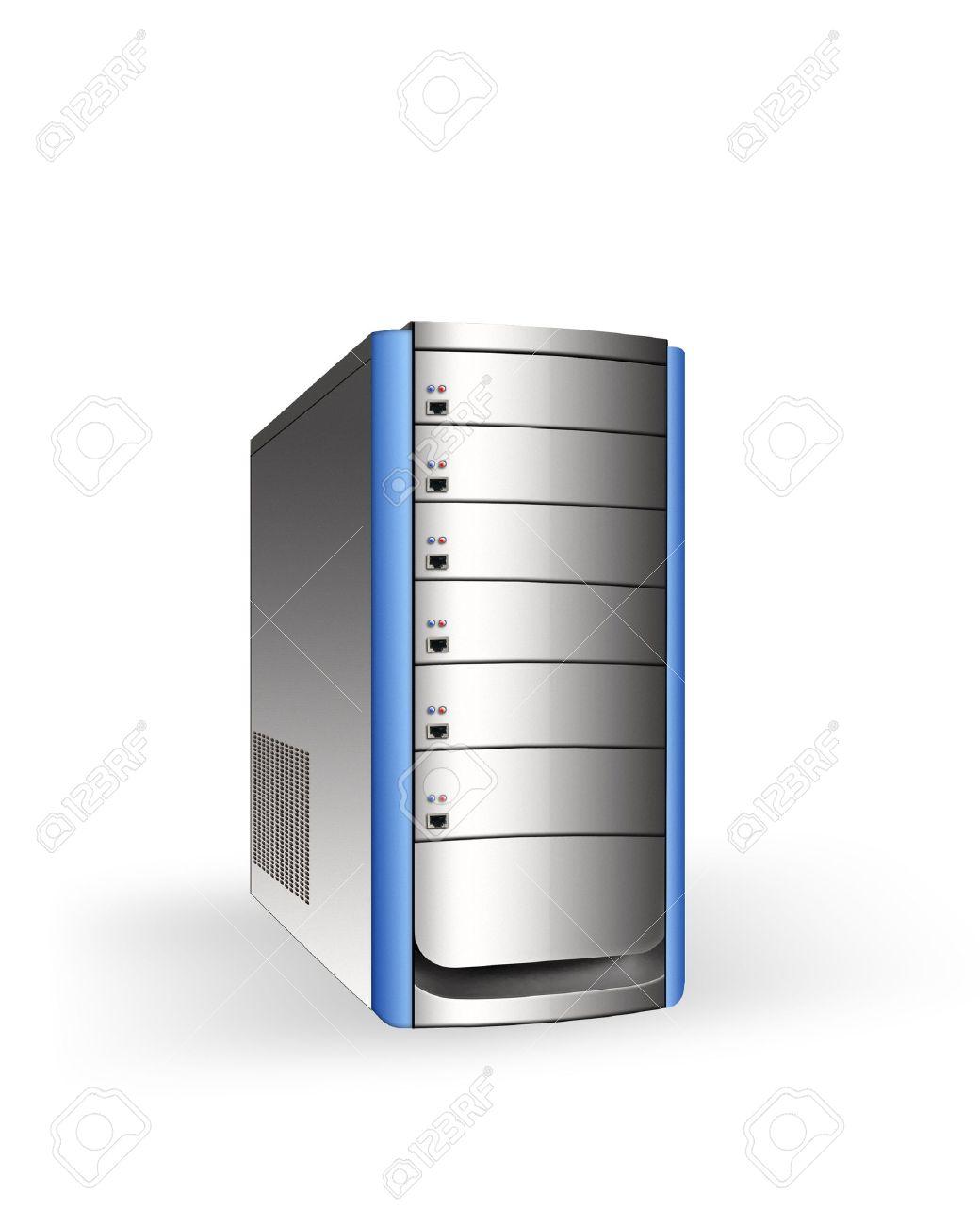 modern server Stock Photo - 10734159