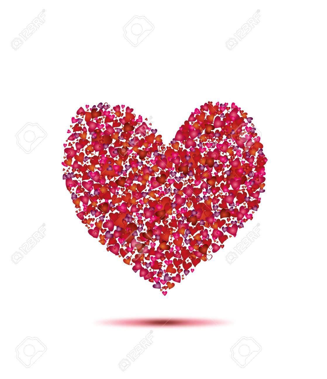 heart from hearts Stock Vector - 17432433