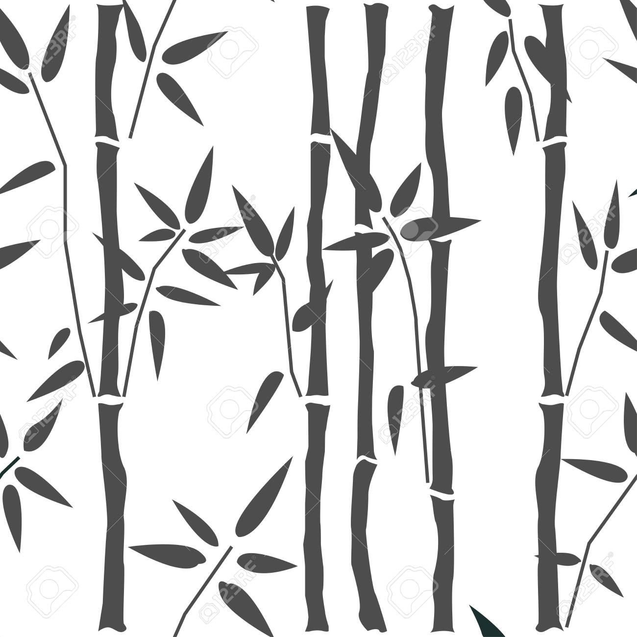 seamless pattern with bamboo great for swatches fabric textile