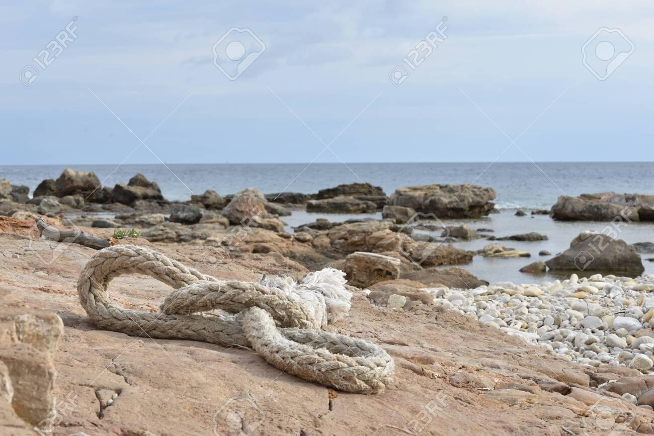 Nautical sea rope - 134659168