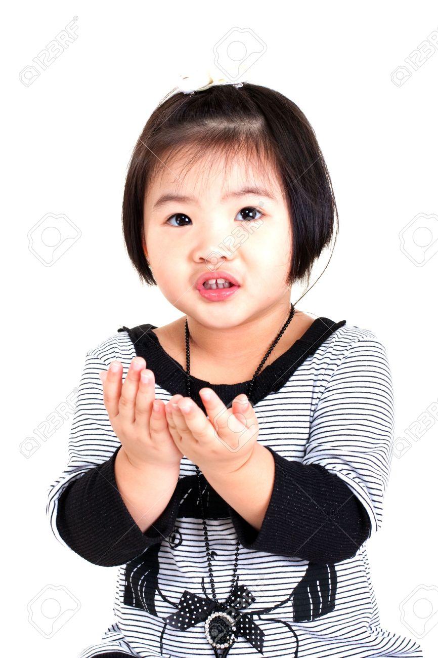 かわいい中国の女の子 ロイヤリティーフリーフォト、ピクチャー、画像