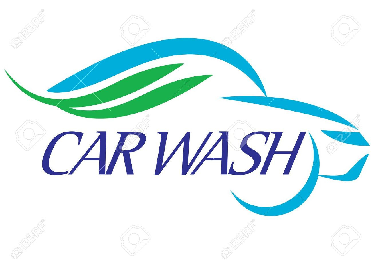 special symbol for car wash company on background Stock Vector - 9630415