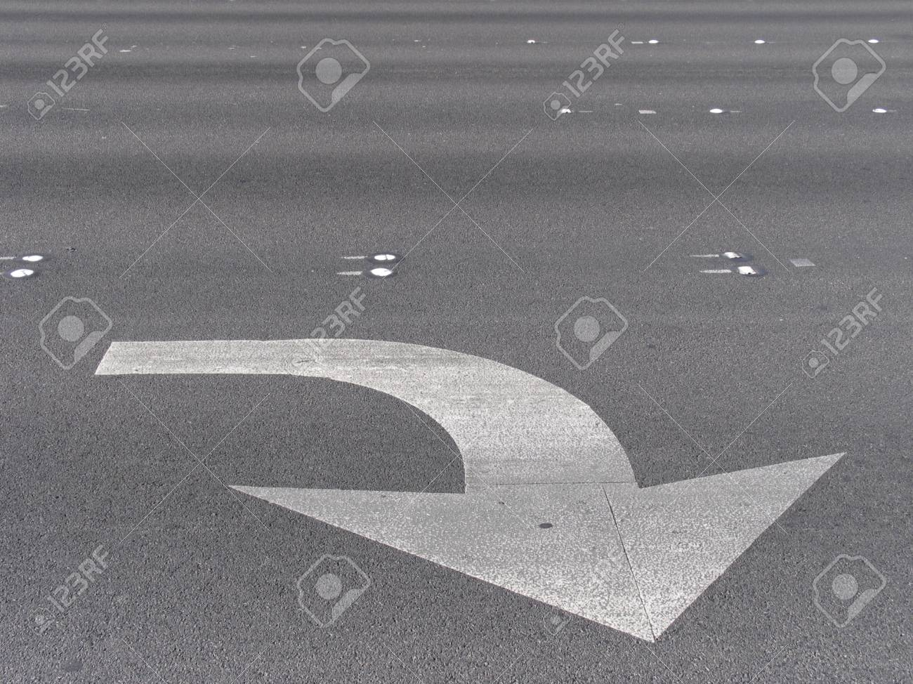 Symbol traffic on a street in the united states of america Stock Photo - 7262563
