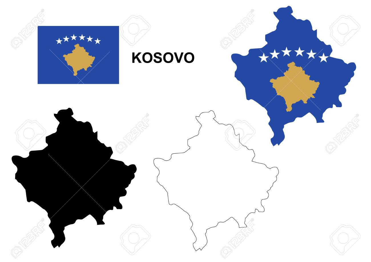 Kosovo map vector kosovo flag vector isolated kosovo royalty free kosovo map vector kosovo flag vector isolated kosovo stock vector 46314246 gumiabroncs Images