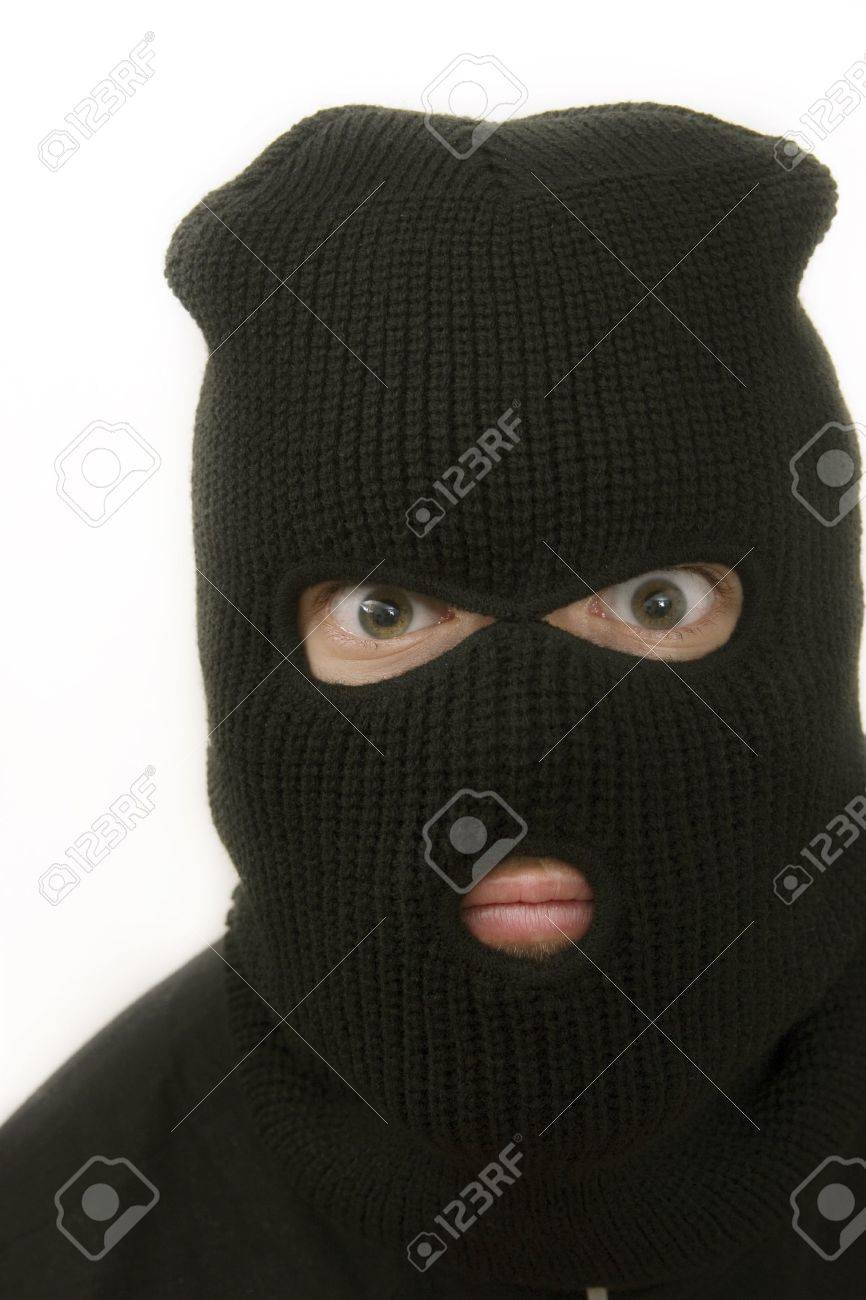 criminal with mask