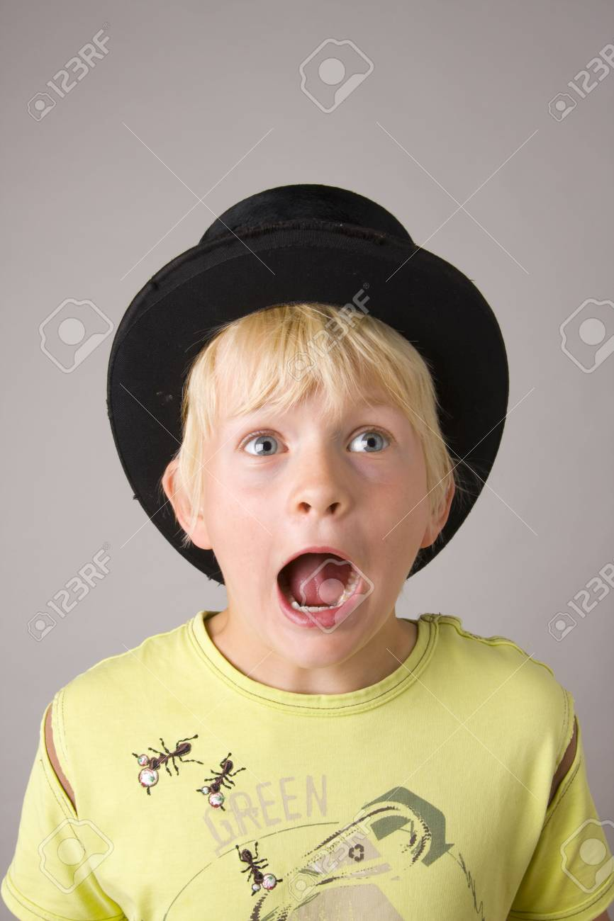 Portrait of a young boy shouting madly Stock Photo - 3263265