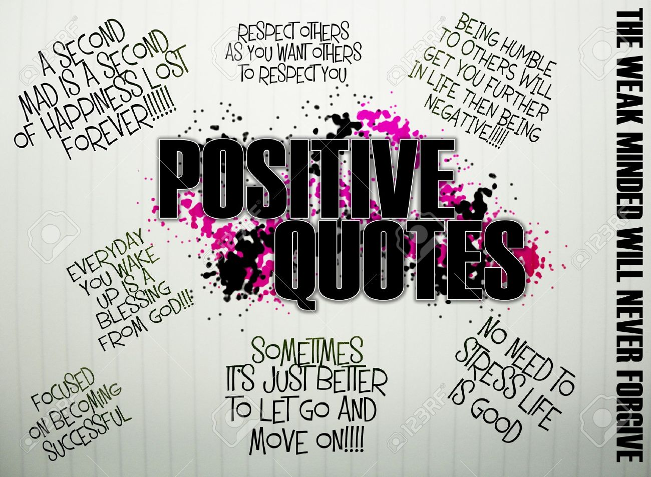Postive inspiring quotes for young teens and young adults