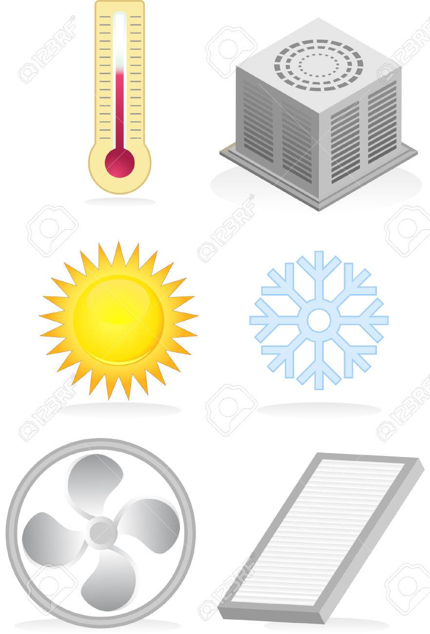 Air Conditioner Group Stock Vector - 4904179