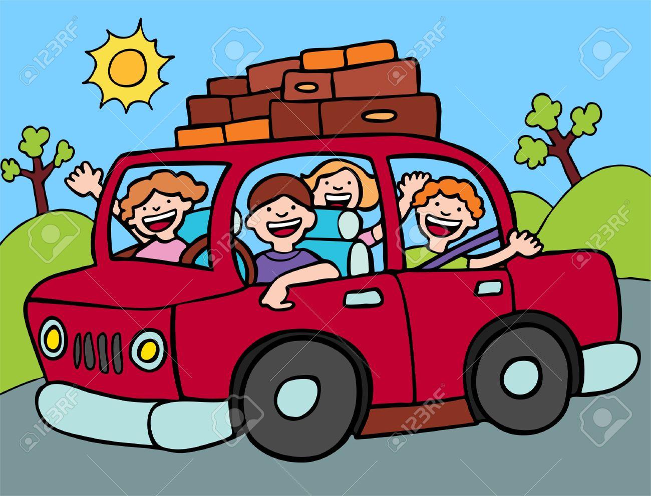Road Trip Stock Vector - 5163323