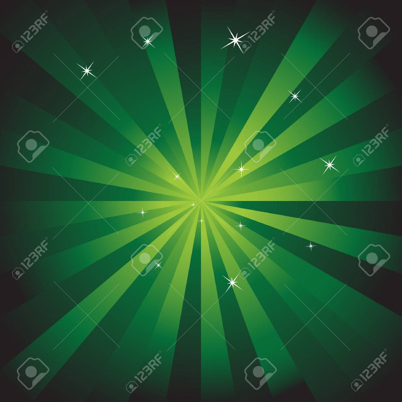 Green Energy Background Stock Vector - 5431944