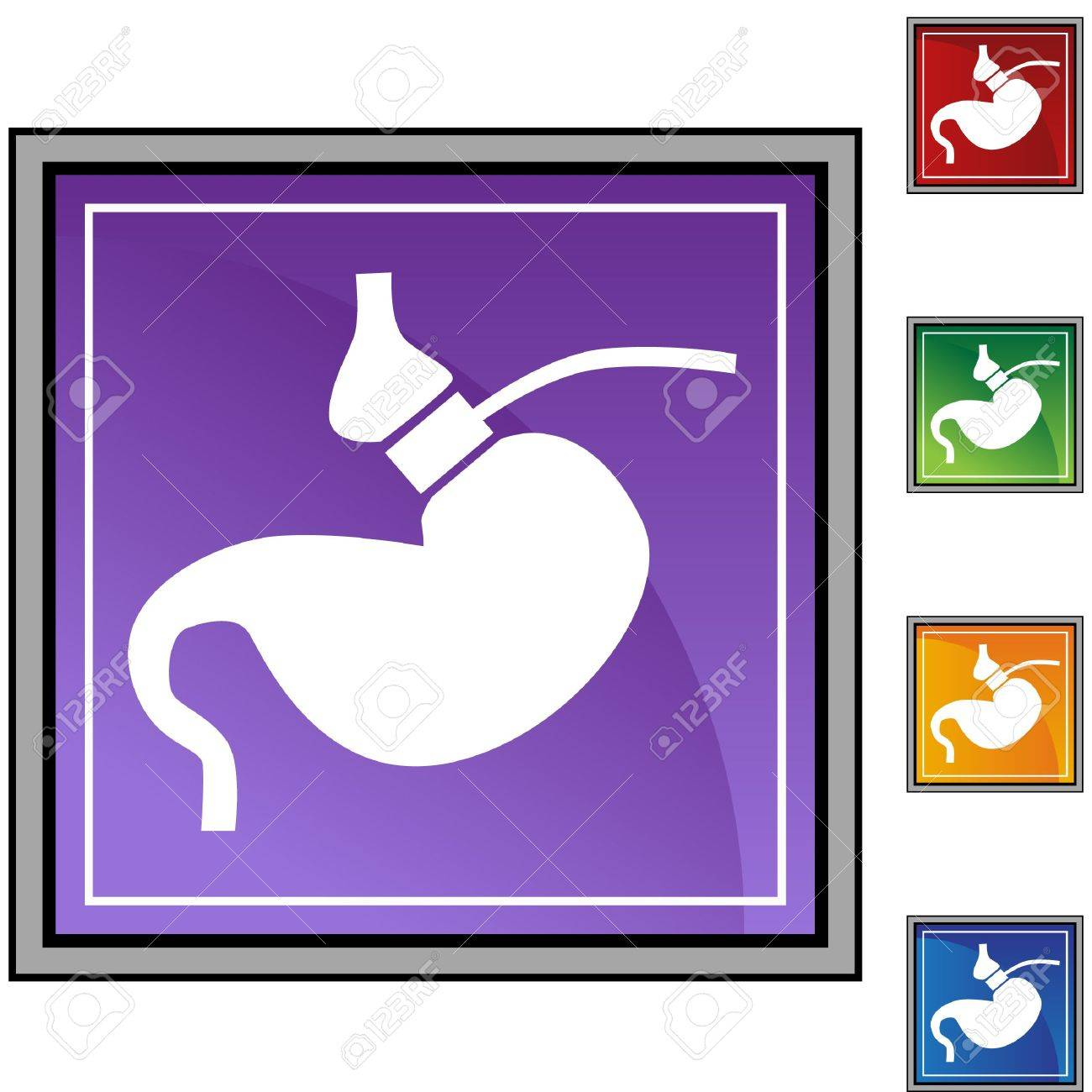 Gastric Bypass Stock Vector - 6830115