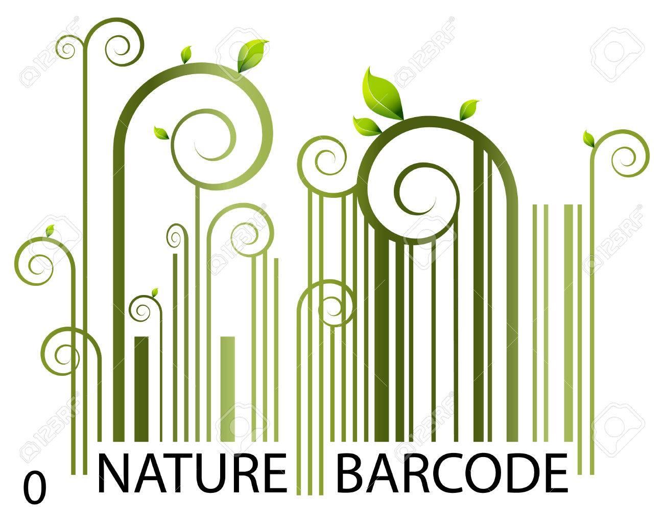 Nature Barcode Stock Vector - 7559574