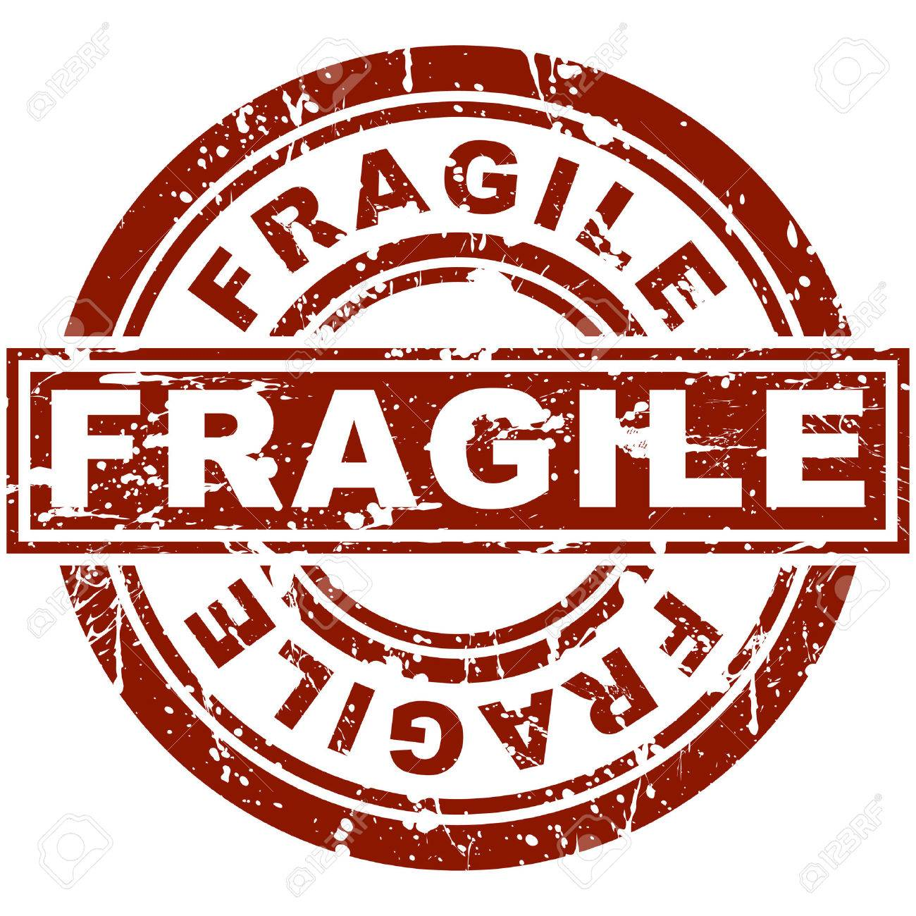 An image of a fragile stamp. Stock Vector - 7614197