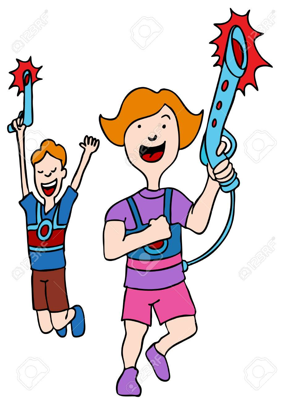 an image of children playing laser tag royalty free cliparts rh 123rf com Laser Caution Clip Art Laser Quest Clip Art