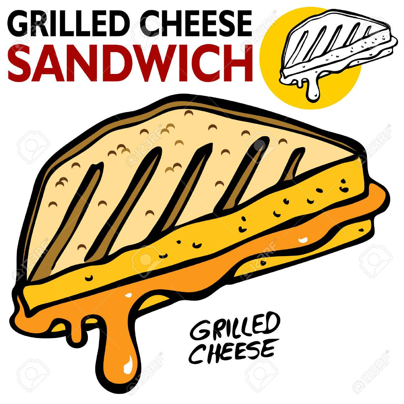 an image of a grilled cheese sandwich royalty free cliparts rh 123rf com national grilled cheese day clipart soup and grilled cheese clipart