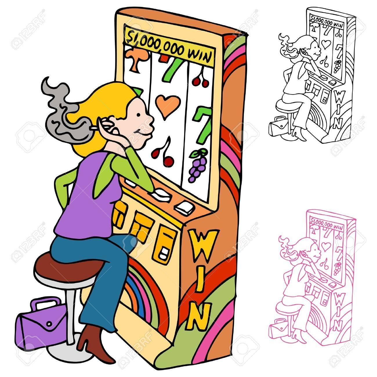 Casino Slots Clip Art