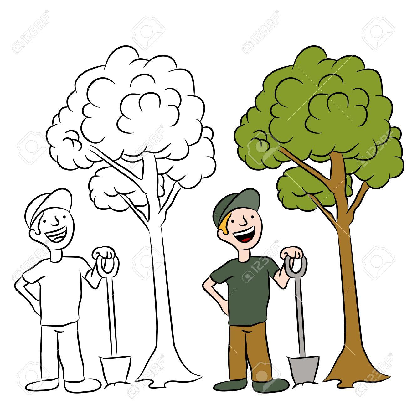 Рисунок посади дерево 4