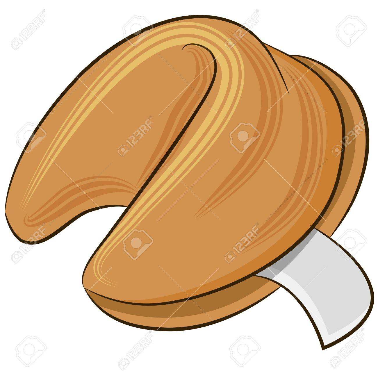 an image of a fortune cookie royalty free cliparts vectors and rh 123rf com free fortune cookie clipart