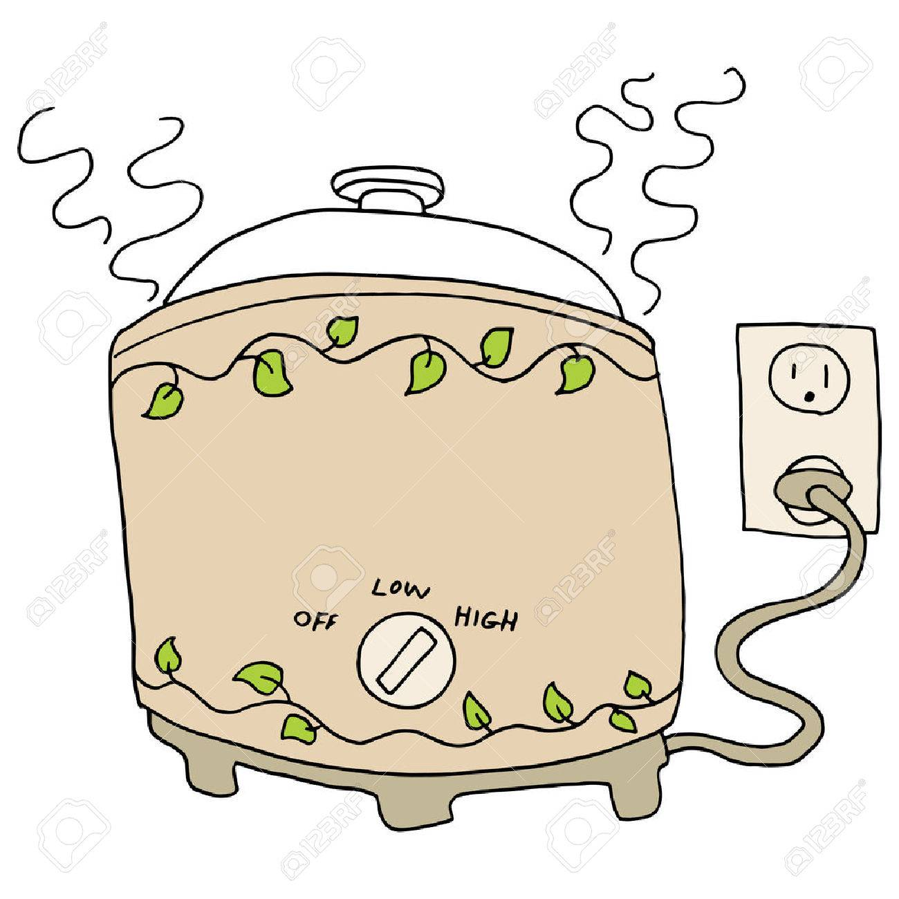 An image of a slow cooker pot. - 27363640
