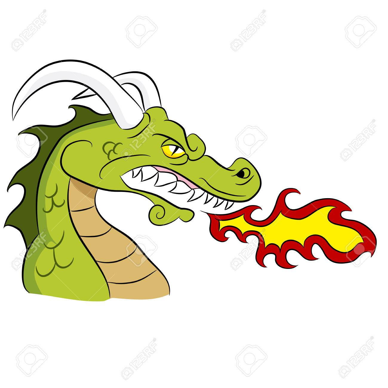 cartoon fire breathing dragon royalty free cliparts vectors and rh 123rf com deep breathing clipart person breathing clipart