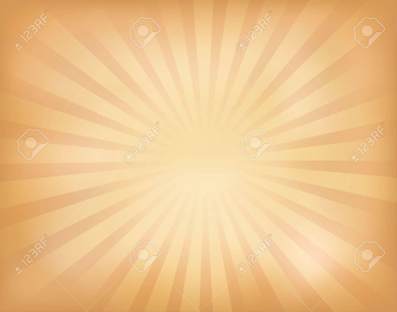 illustration of vintage sunburst Stock Vector - 14170039