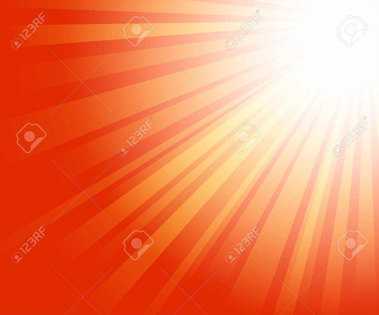暖かい太陽の光の赤の背景イラスト ロイヤリティフリークリップアート
