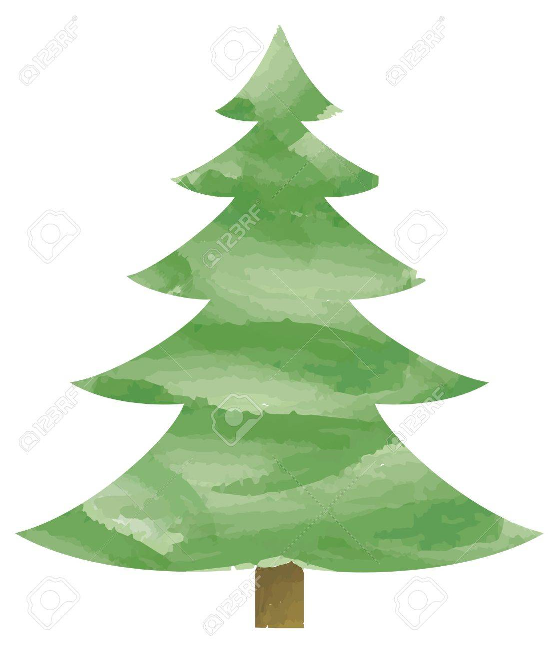 モミの木のベクトル イラストのイラスト素材ベクタ Image 16256406