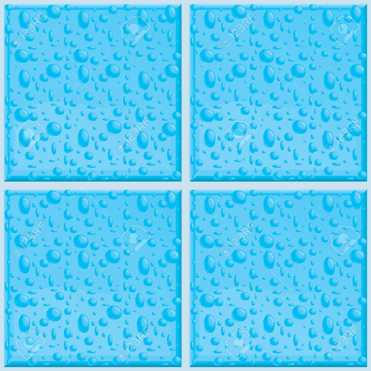 A Seamless And Repeating Bathroom Tile Pattern. Royalty Free ...