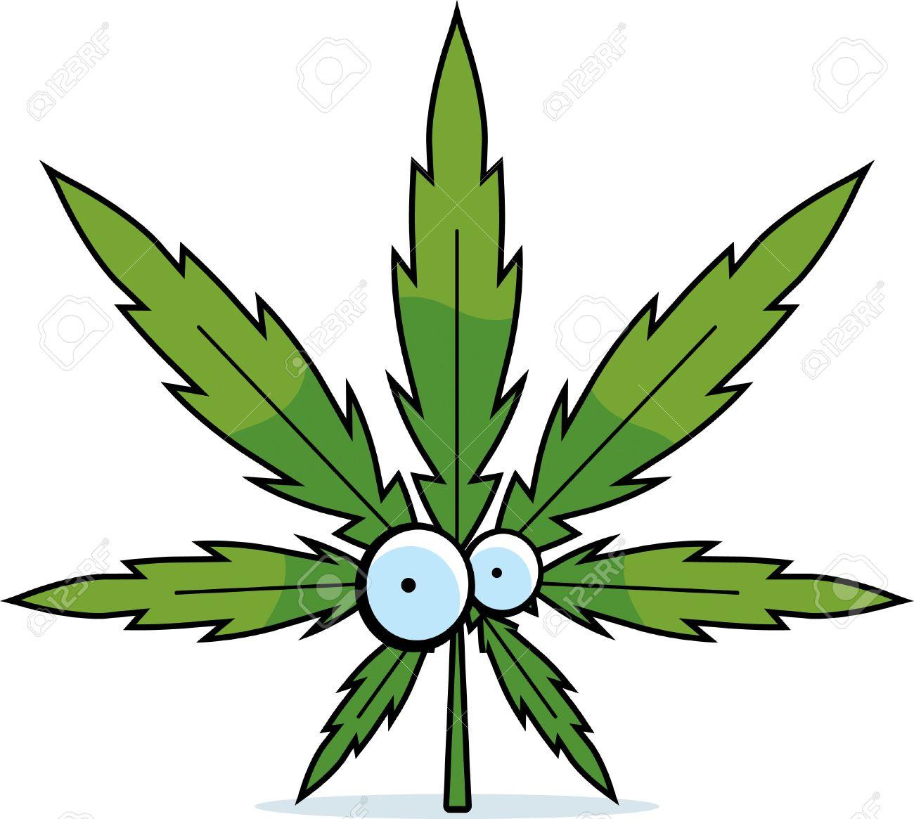 a green cartoon marijuana leaf with eyes royalty free cliparts rh 123rf com cartoon pot leaf tattoos Cartoon Pot Leaf Cute
