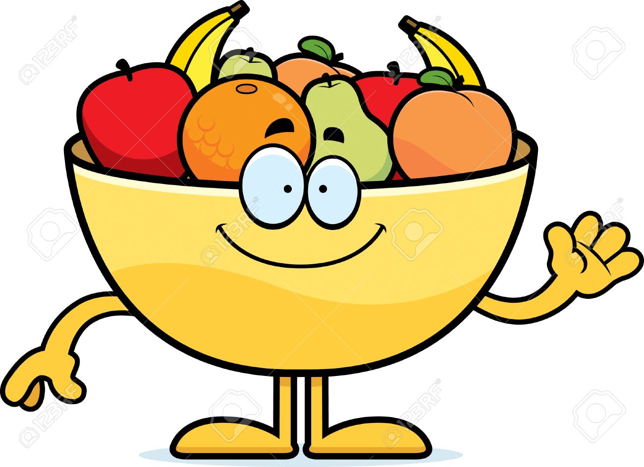 Image result for cartoon fruit bowl