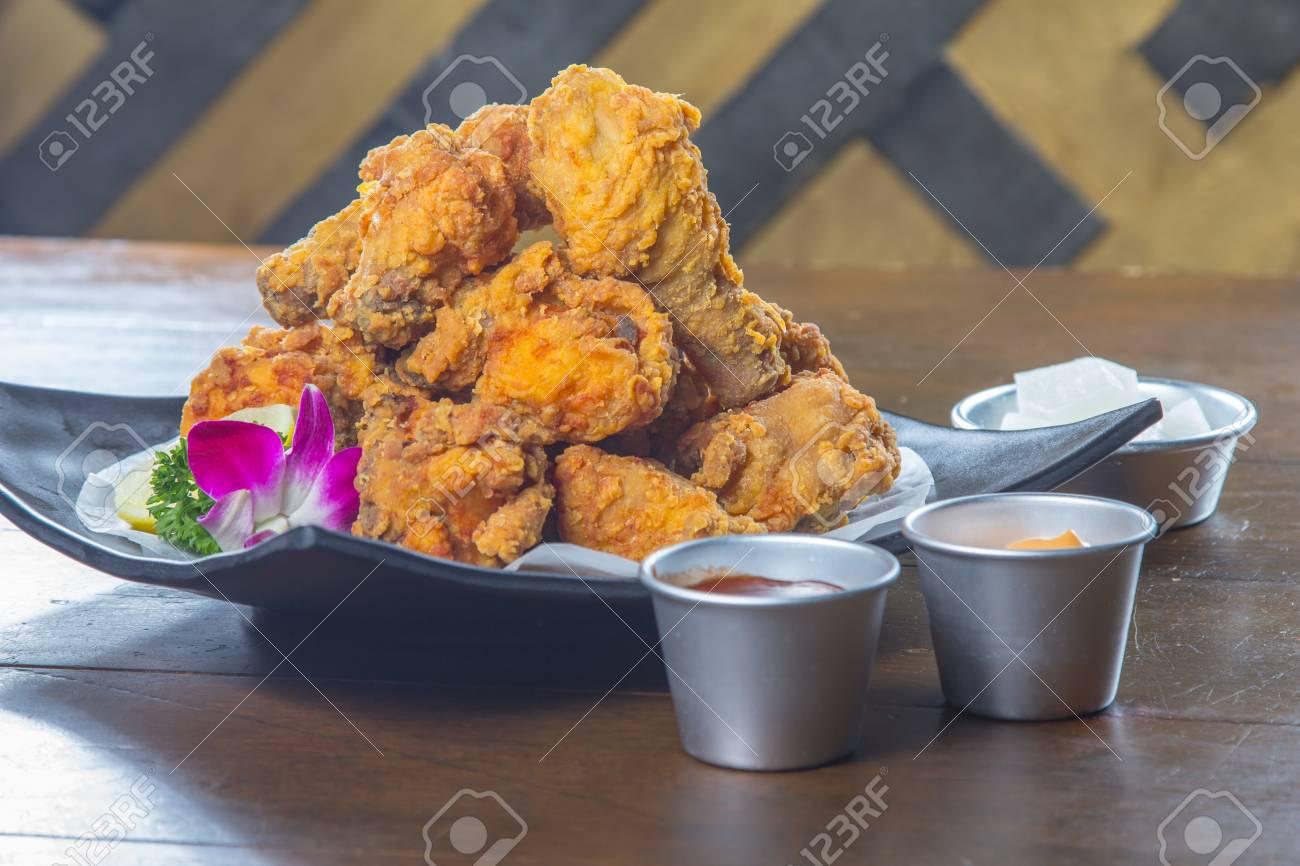 Eine Küche Foto Von Frittierten Huhn Lizenzfreie Fotos, Bilder Und ...