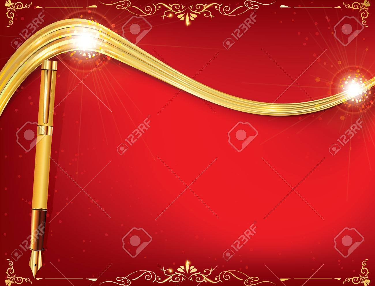 Red Celebration Background For Any Occasion: Winter Holidays ...