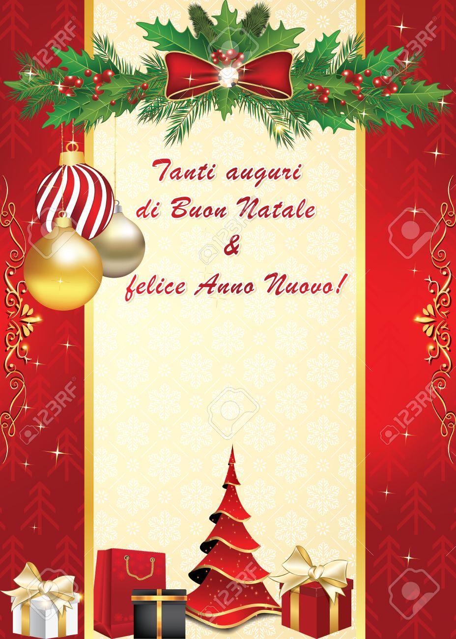 Buon Natale Christmas Card Christmas Cards 2018