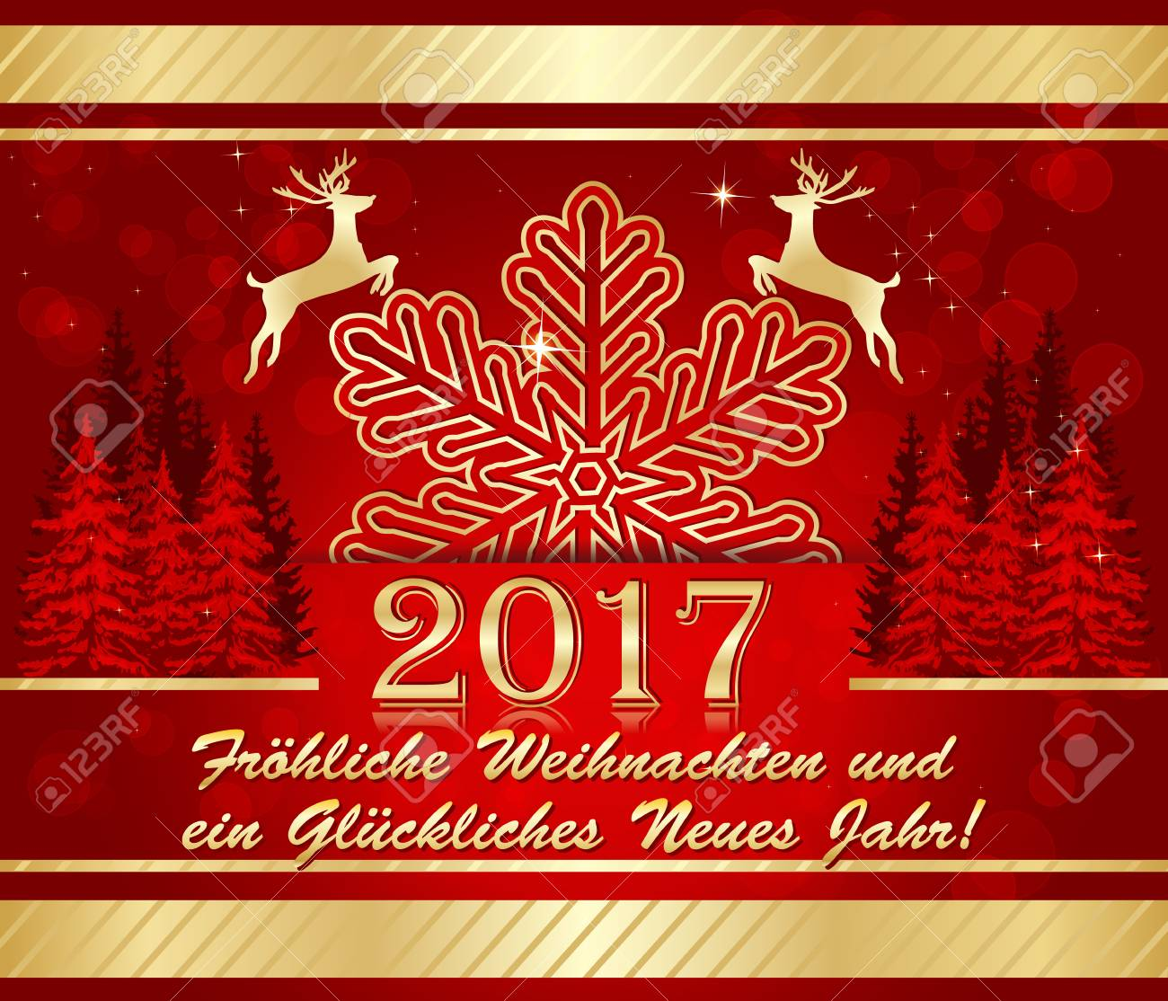 German christmas new year 2017 greeting card merry christmas german christmas new year 2017 greeting card merry christmas and happy new year m4hsunfo