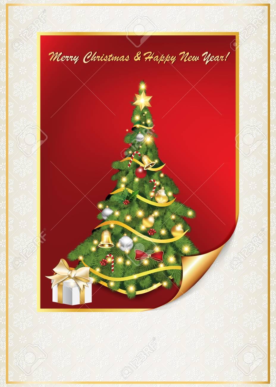 Postales de navidad y ano nuevo para imprimir