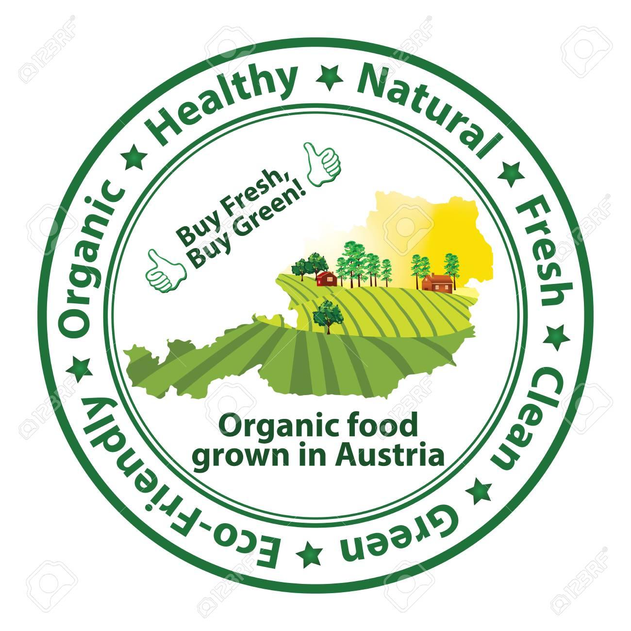 Organic Food Grown In Austria